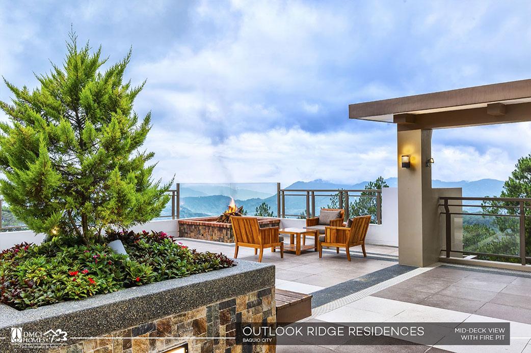 Outlook Ridge Residences Firepit