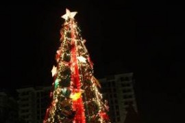 DMCI Homes communities dressed up for the Christmas Season