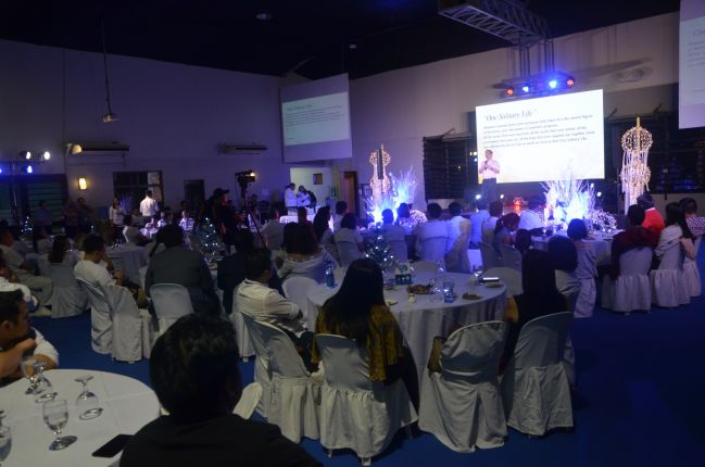 Over 100 unit owners attended the event held at the multi-purpose gym of the DMCI Homes Corporate Center in Makati City.