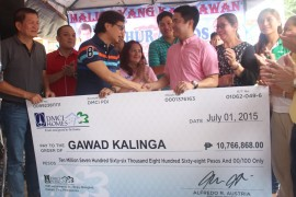 DMCI Homes donates P10.77 million for Mandaluyong, Gawad Kalinga housing project