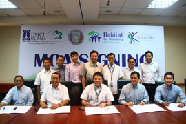 DMCI Homes turns over P14.7M donation for Para
