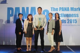 DMCI Homes bags Gold in the PANAta Awards
