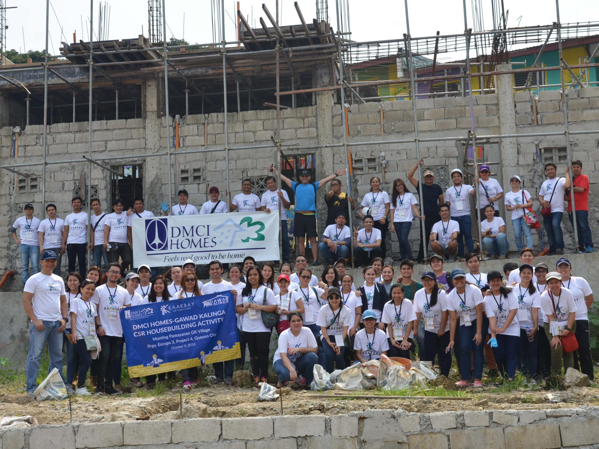 DMCI Homes, Gawad Kalinga build homes for PWDs in QC community