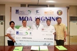 DMCI Homes helps rebuild lives thru socialized housing project in Paranaque