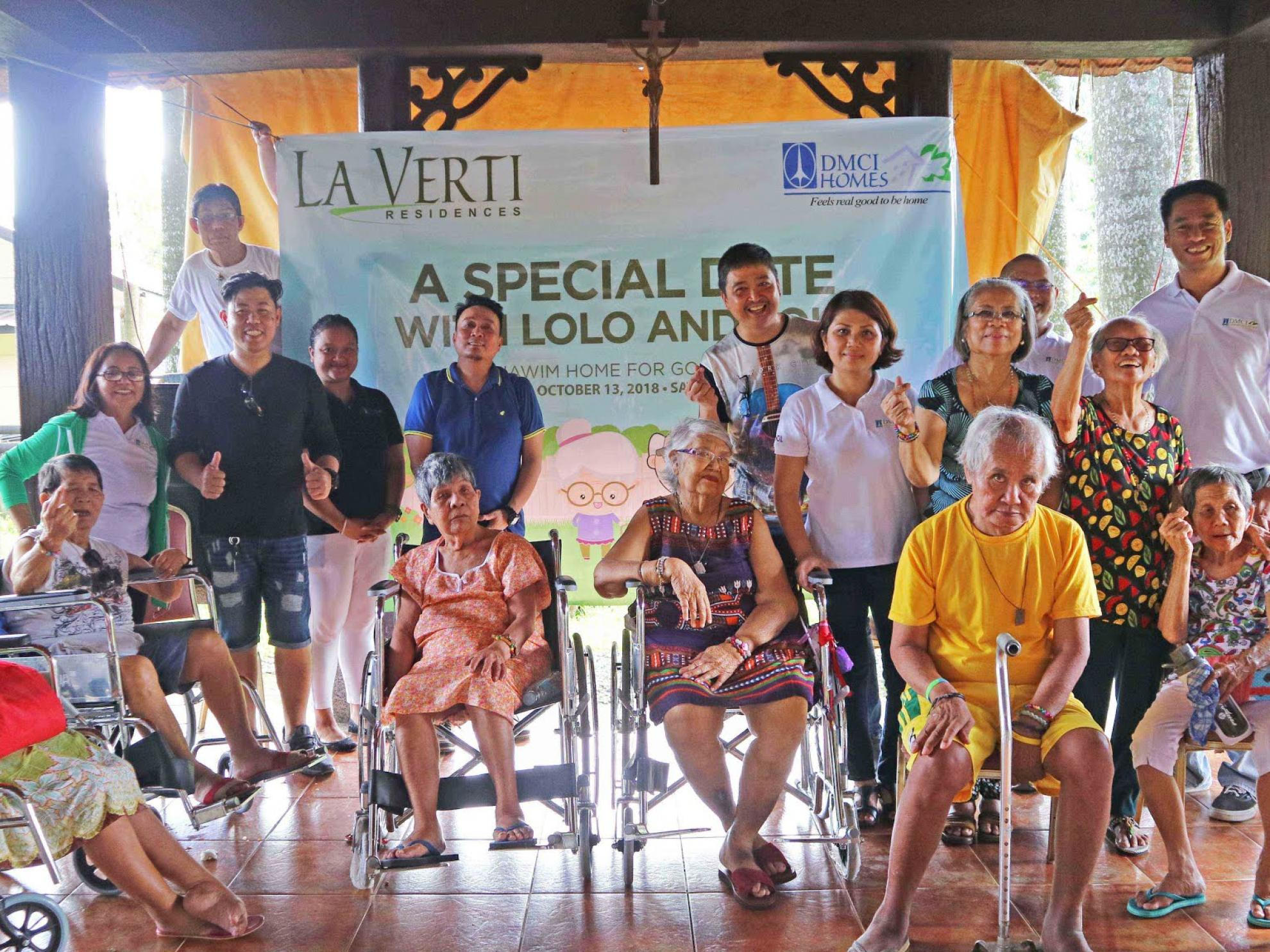 DMCI Homes condo community shows love for poor and abandoned elderly