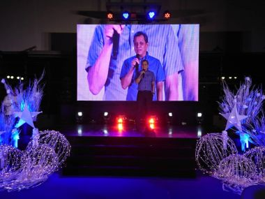 dmci homes president alfredo austria communities yearend party