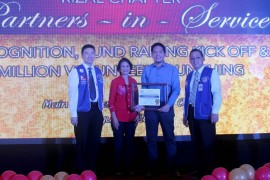 Red Cross recognizes DMCI Homes as a Partner in Service