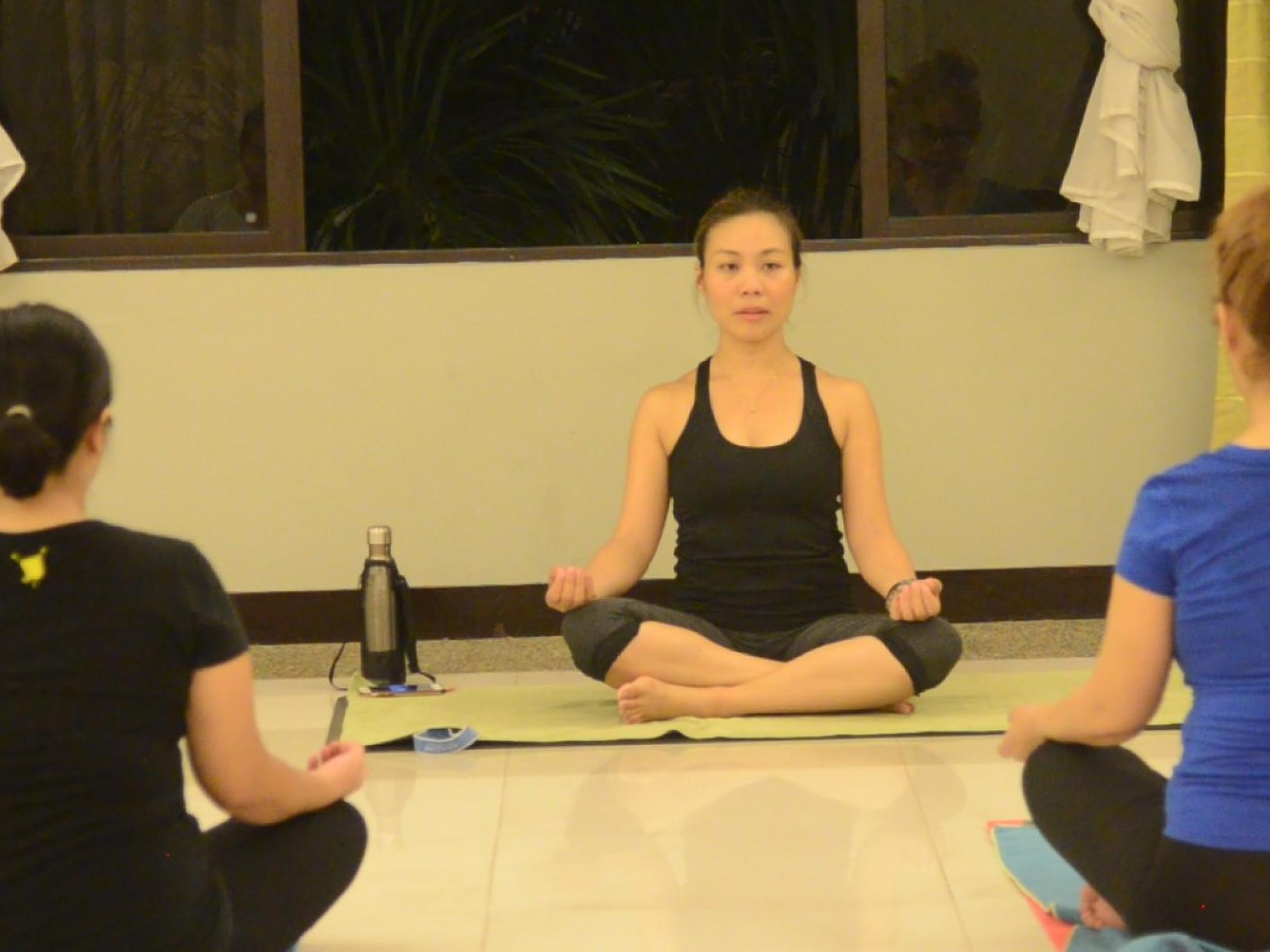 Finding inner peace through yoga and community fellowship