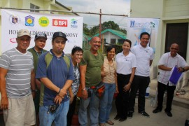 DMCI Homes turns over donated houses in Payatas
