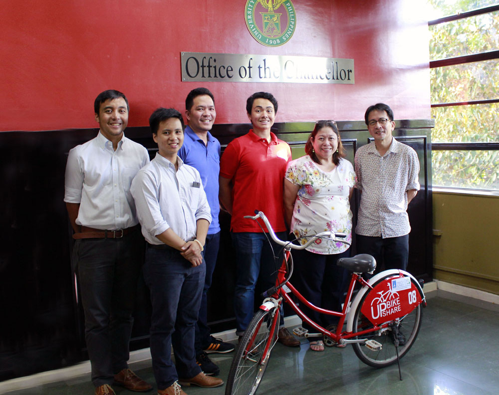 DMCI Homes partners with student advocacy group UP Bike Share
