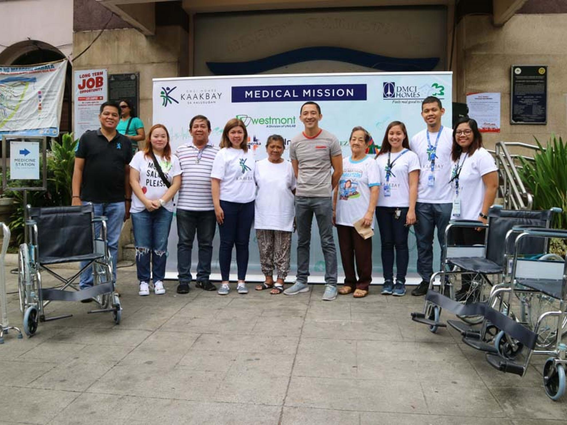 "DMCI Homes ends ""Nutrition Month"" with Guadalupe Viejo, Makati medical mission"