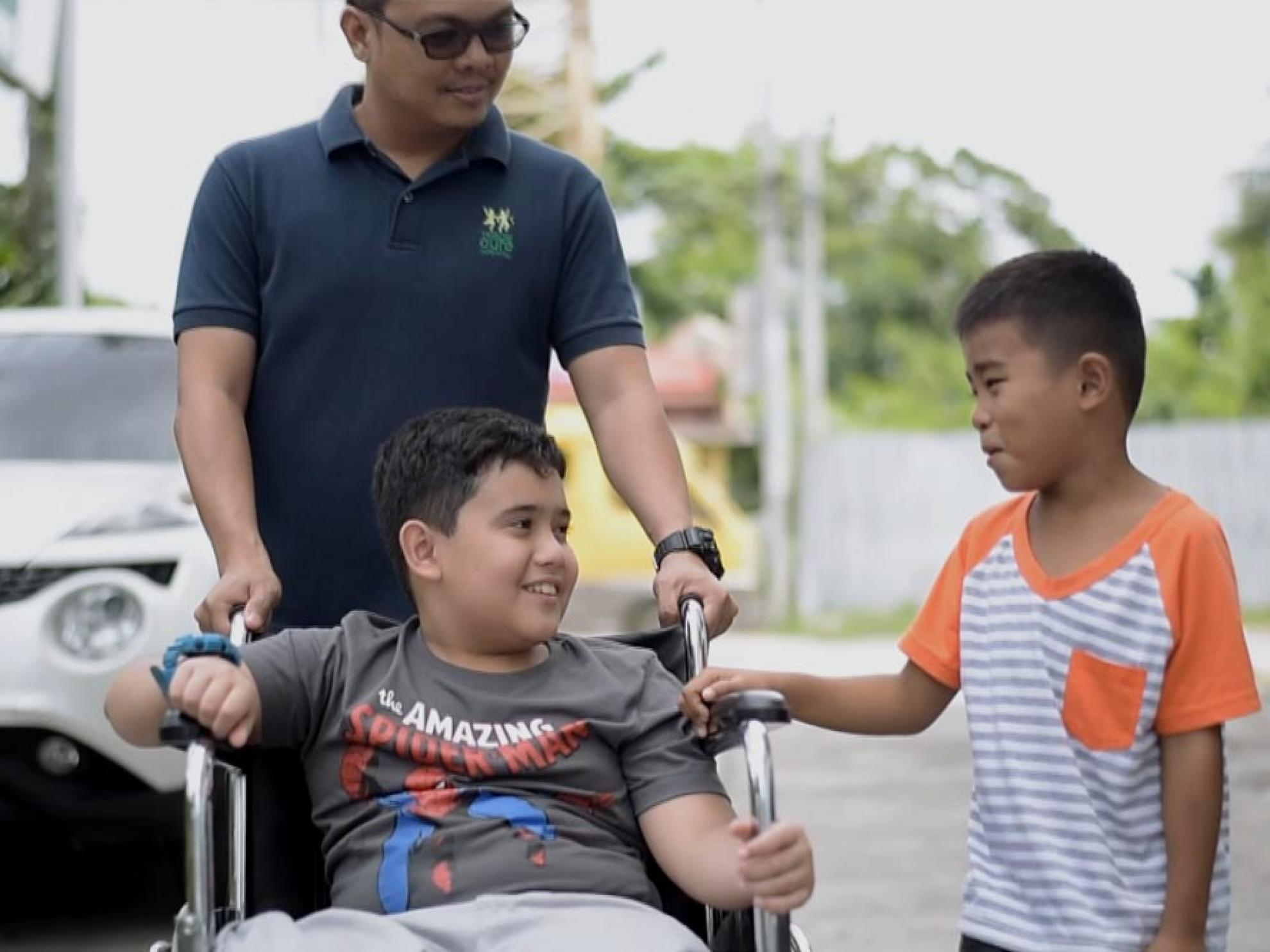 DMCI Homes teams up with Cure Philippines to help kids with disabilities