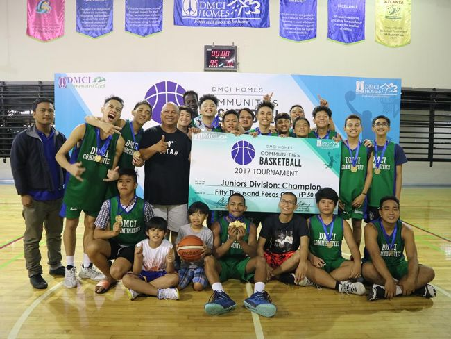 juniors team dmci homes basketball