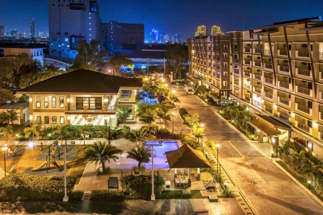 Actual shot of DMCI Homes' Levina Place community in Pasig City.