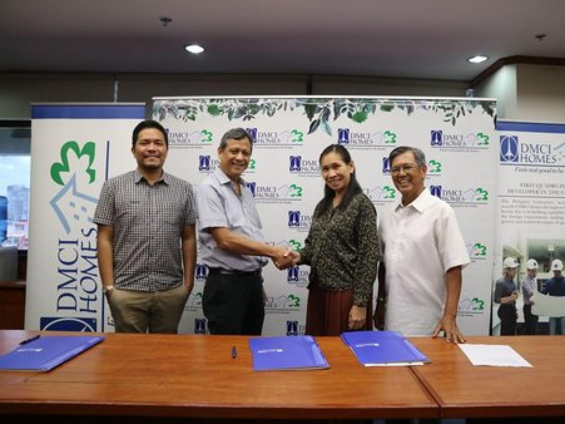 DMCI Homes and UP Engineering tie-up for research grants, collaborate for innovations
